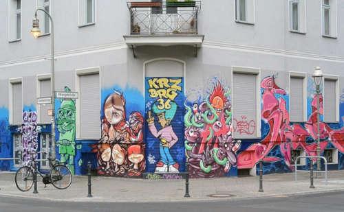 Kreuzberg Graffiti