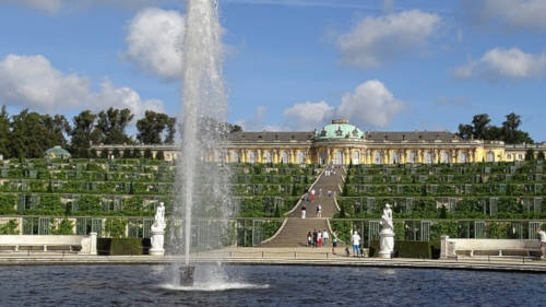 Potsdam Palacio Sanssouci